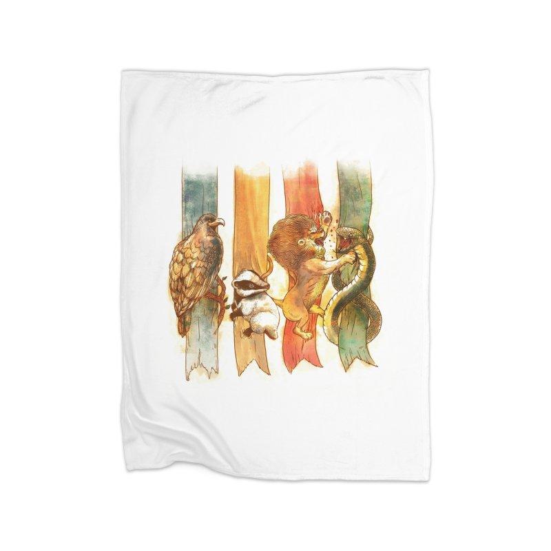 House Brawl Home Blanket by Threadless Artist Shop