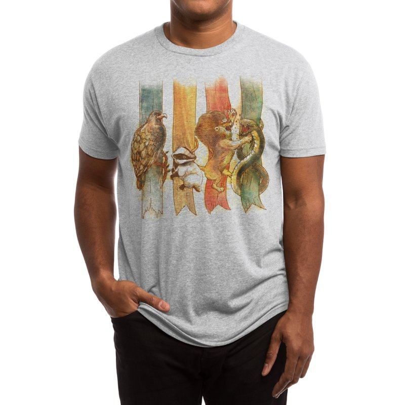 House Brawl Men's T-Shirt by Threadless Artist Shop