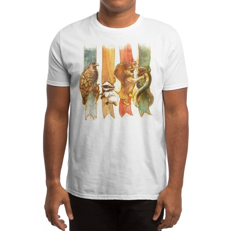House Brawl Men's T-Shirt by Threadless Artist Shop