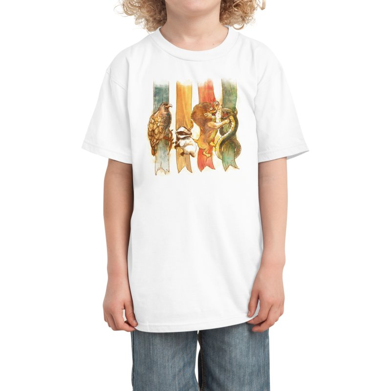 House Brawl Kids T-Shirt by Threadless Artist Shop