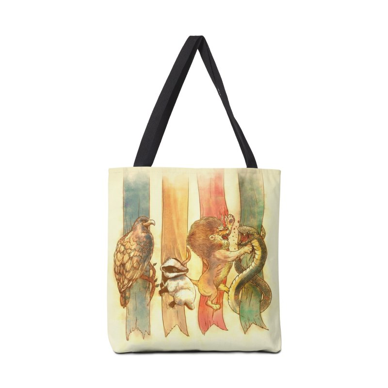 House Brawl Accessories Bag by Threadless Artist Shop