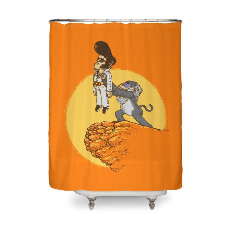 The King Home Shower Curtain by Threadless Artist Shop