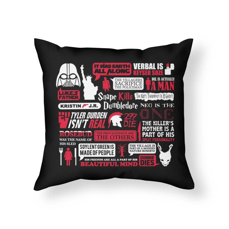 Spoilt Home Throw Pillow by Threadless Artist Shop