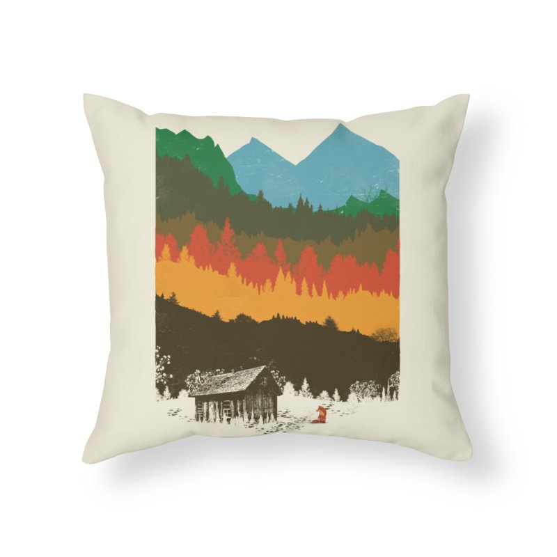 Hunting Season Home Throw Pillow by Threadless Artist Shop