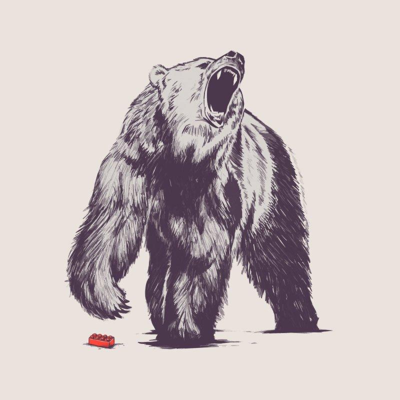 Bear Block Men's Tank by Threadless Artist Shop