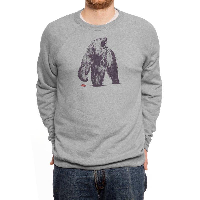 Bear Block Men's Sweatshirt by Threadless Artist Shop