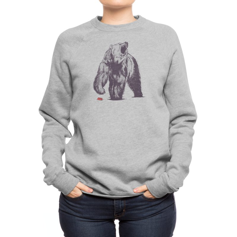 Bear Block Women's Sweatshirt by Threadless Artist Shop
