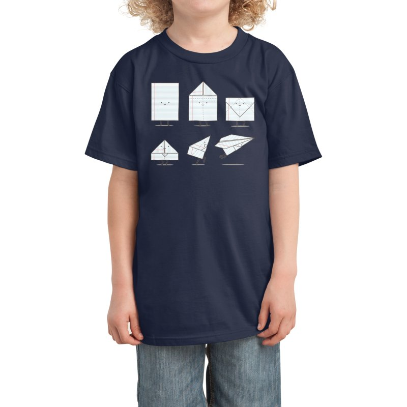 Let's Go Explore Kids T-Shirt by Threadless Artist Shop
