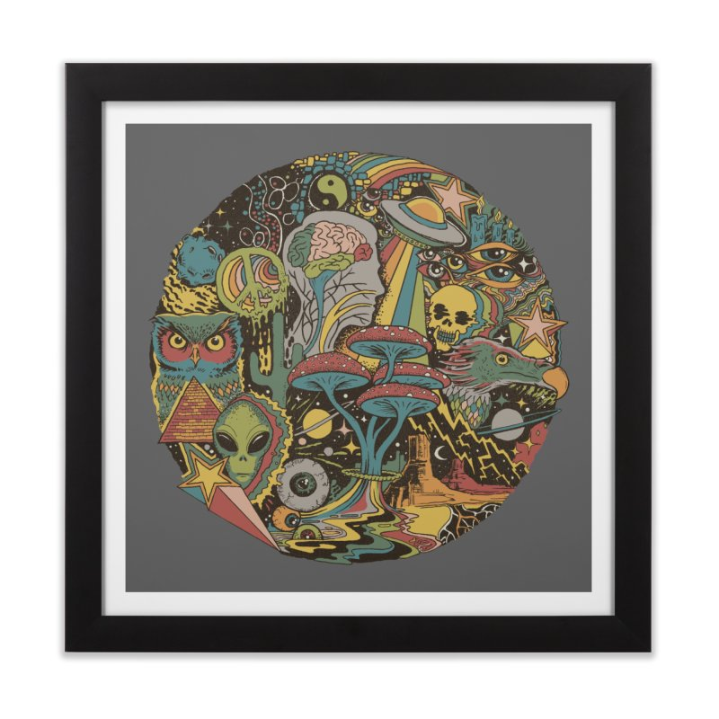 Your Mind's Eye Home Framed Fine Art Print by Threadless Artist Shop
