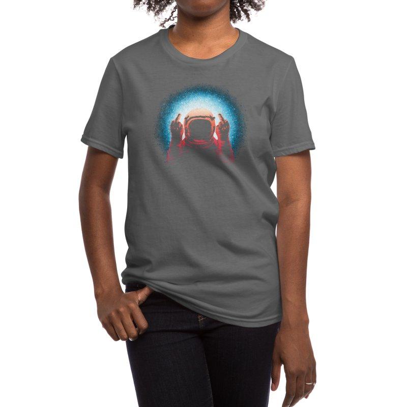 Negative Spaceman Women's T-Shirt by Threadless Artist Shop