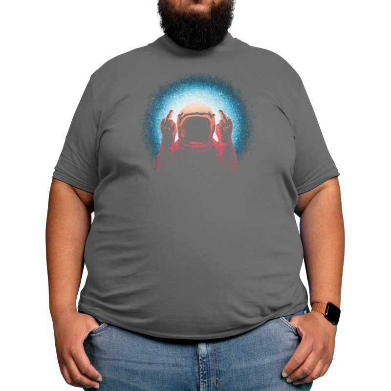 Negative Spaceman Men's T-Shirt by Threadless Artist Shop