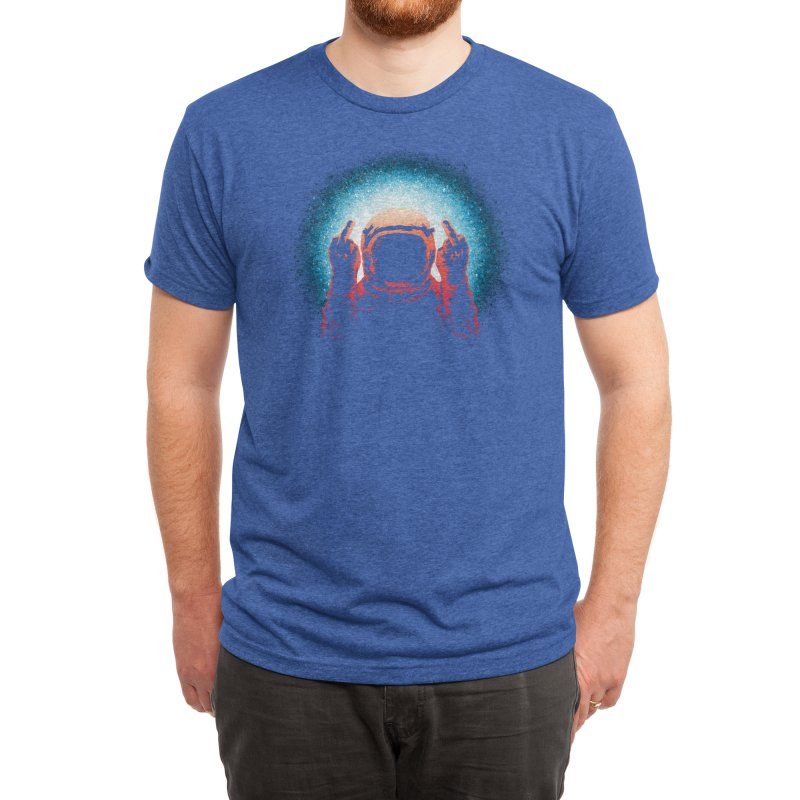 Negative Spaceman Men's T-Shirt by Threadless Artist Shop