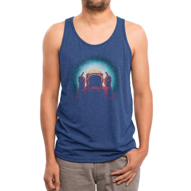 Negative Spaceman Men's Tank by Threadless Artist Shop