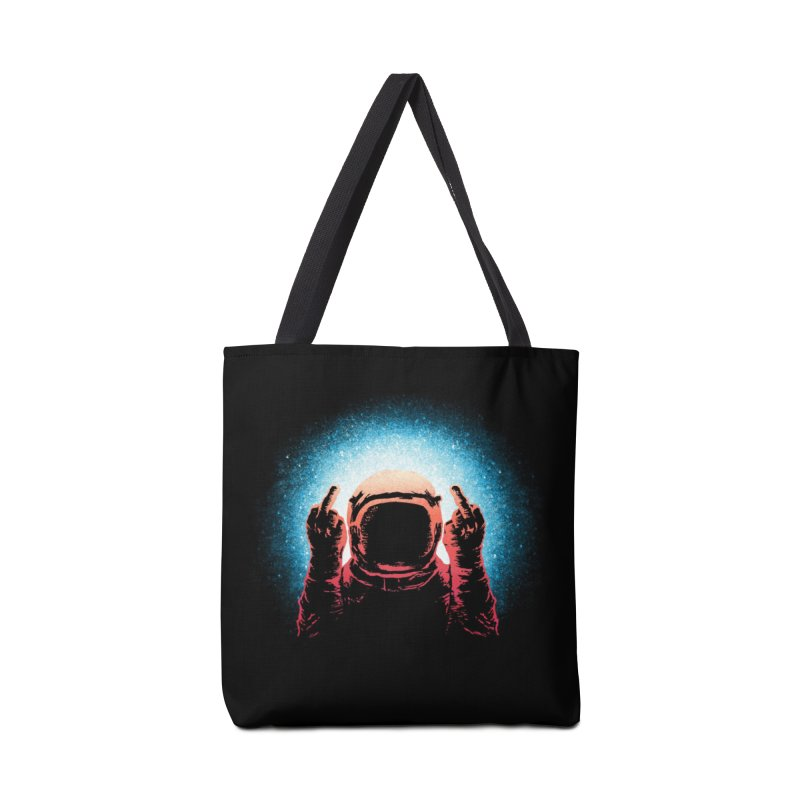 Negative Spaceman Accessories Bag by Threadless Artist Shop