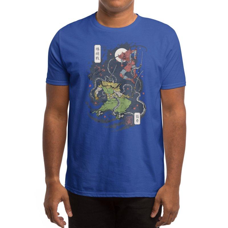 FEUDAL SPIDER WARRIOR UKIYO Men's T-Shirt by Threadless Artist Shop