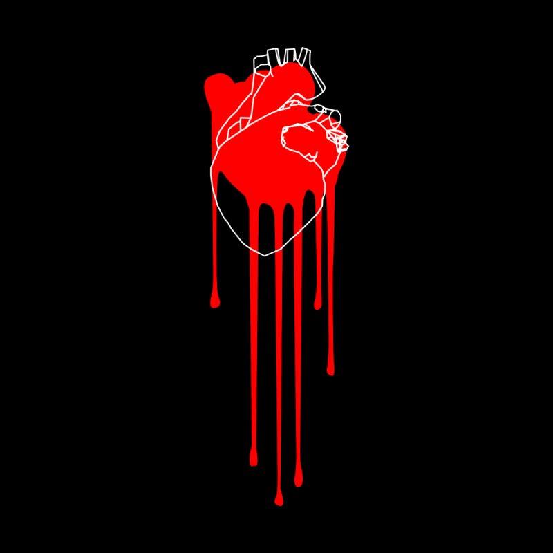 Bleeding Heart Men's T-Shirt by Threadless Artist Shop