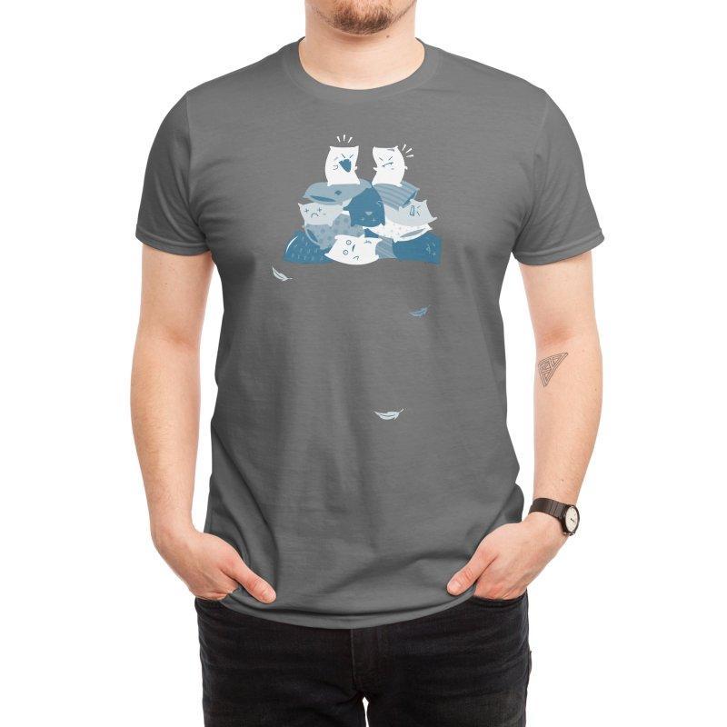 Pillow Fight Men's T-Shirt by Threadless Artist Shop