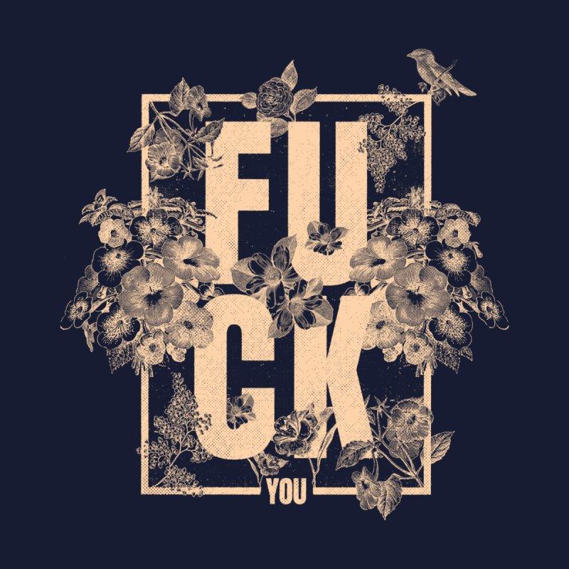 F is for FLOWERS Women's T-Shirt by Threadless Artist Shop