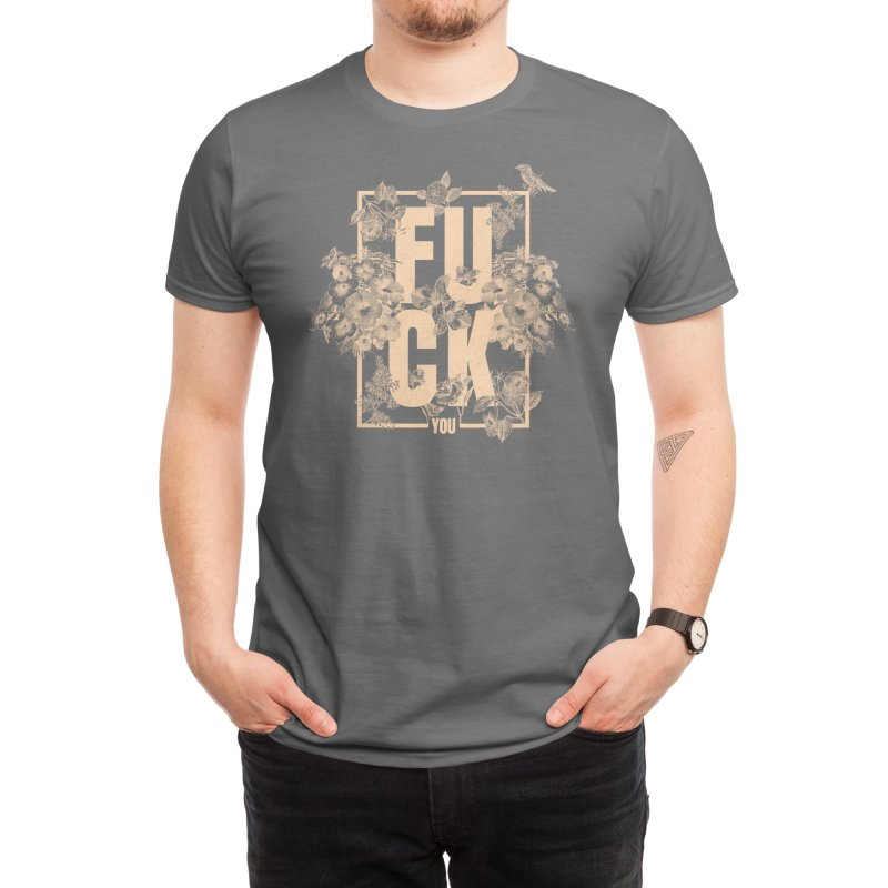 F is for FLOWERS Men's T-Shirt by Threadless Artist Shop