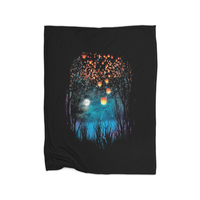 Hope in the Sky Home Blanket by Threadless Artist Shop