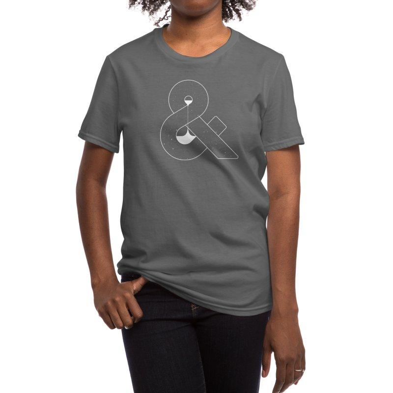Time & Space Women's T-Shirt by Threadless Artist Shop