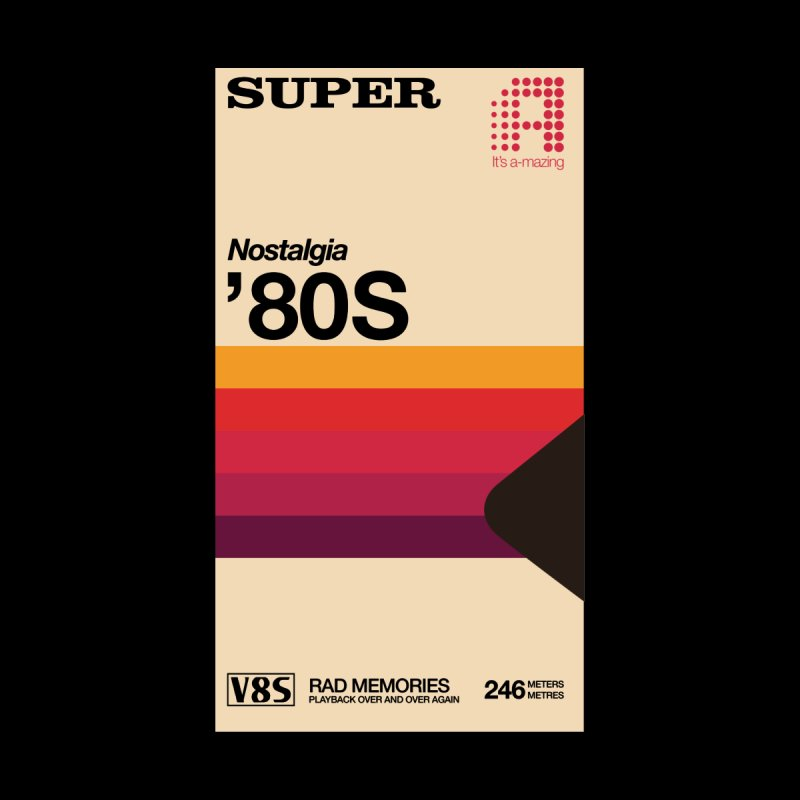 Super Tape Men's T-Shirt by Threadless Artist Shop