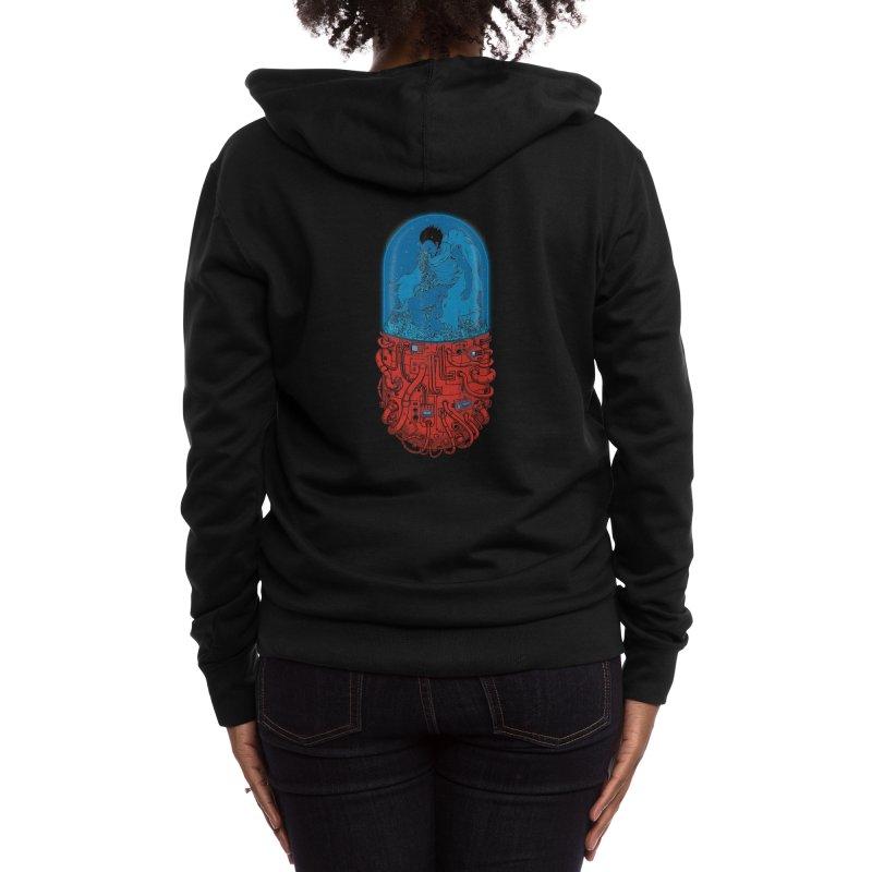 Capsule 41 Women's Zip-Up Hoody by Threadless Artist Shop