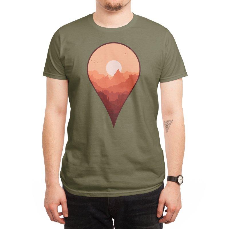 Destination Unknown Men's T-Shirt by Threadless Artist Shop