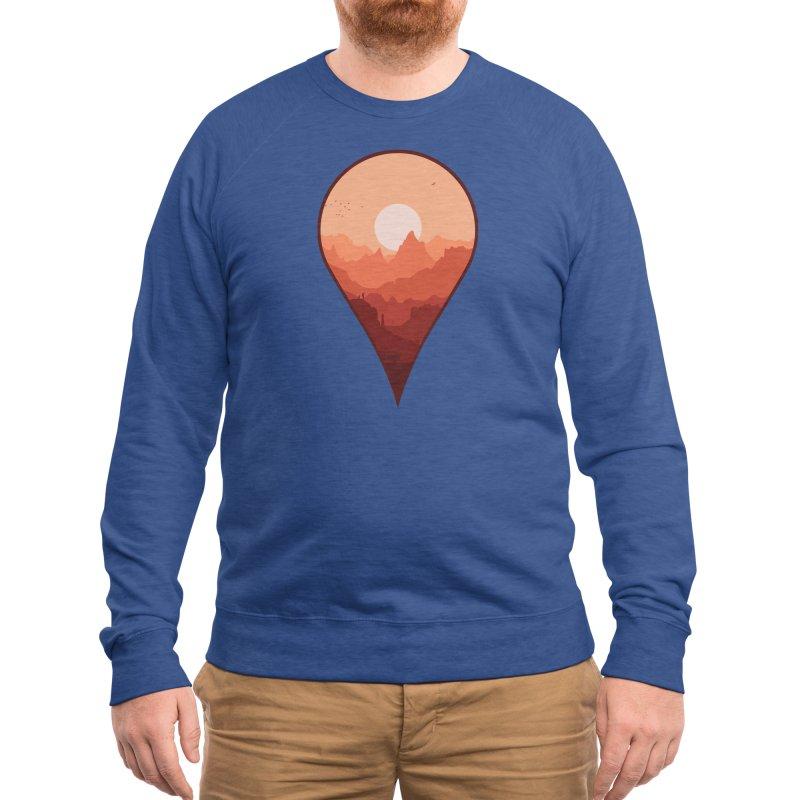 Destination Unknown Men's Sweatshirt by Threadless Artist Shop