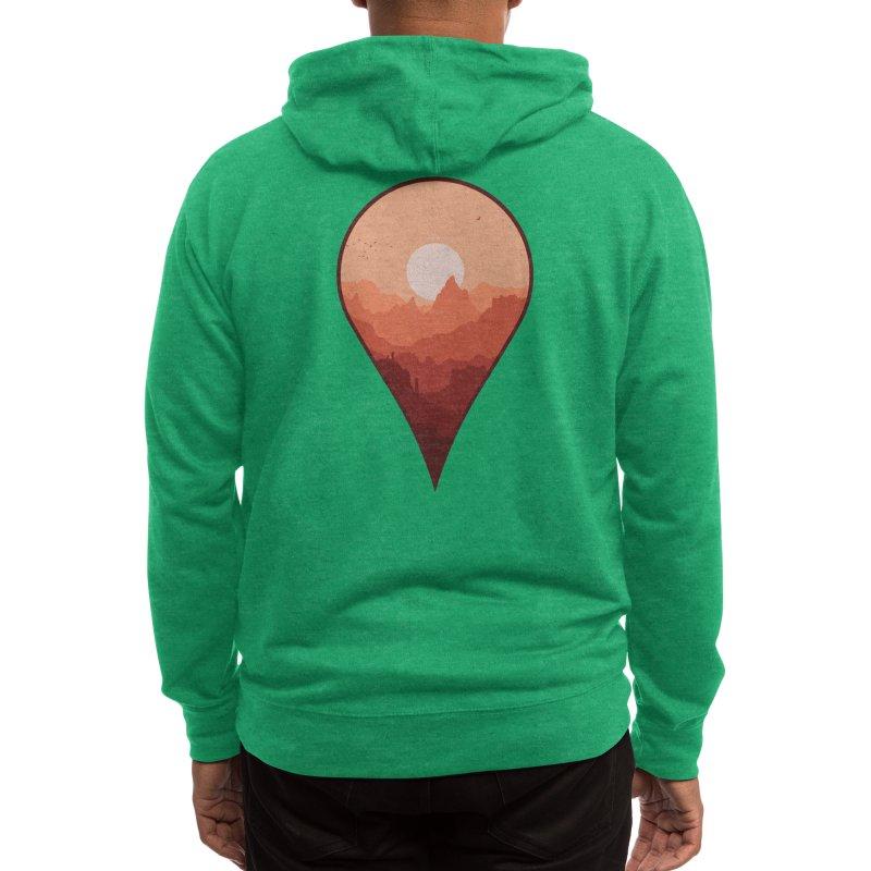 Destination Unknown Men's Zip-Up Hoody by Threadless Artist Shop
