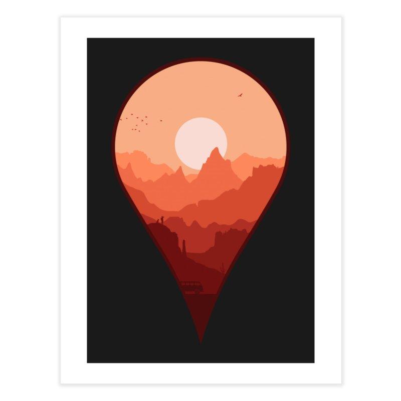 Destination Unknown Home Fine Art Print by Threadless Artist Shop