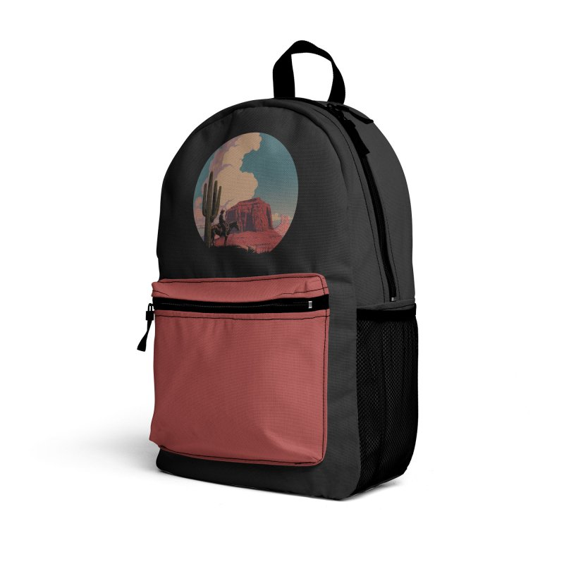 Desert Rider Accessories Bag by Threadless Artist Shop