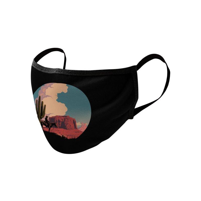 Desert Rider Accessories Face Mask by Threadless Artist Shop