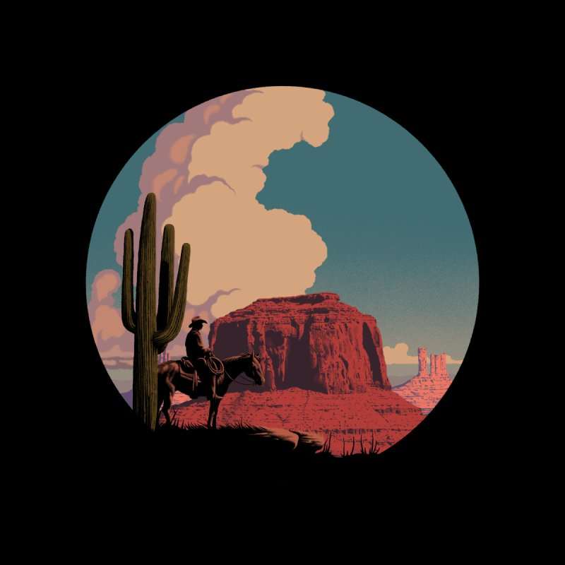 Desert Rider Kids T-Shirt by Threadless Artist Shop