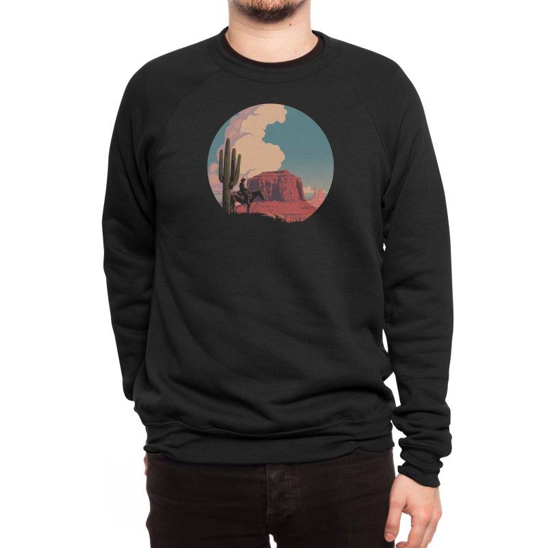 Desert Rider Men's Sweatshirt by Threadless Artist Shop