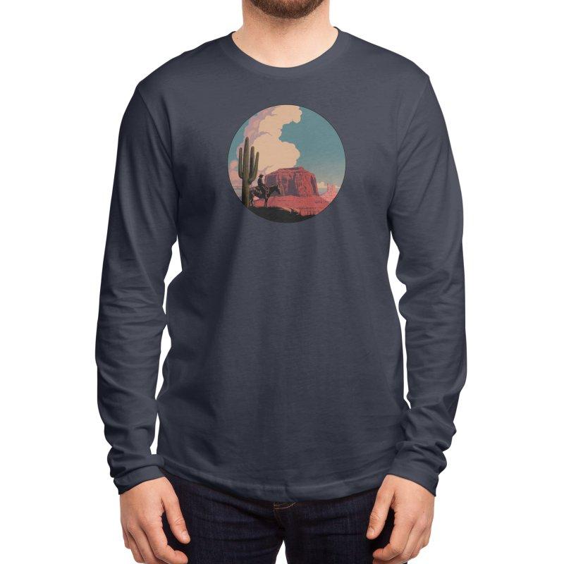 Desert Rider Men's Longsleeve T-Shirt by Threadless Artist Shop