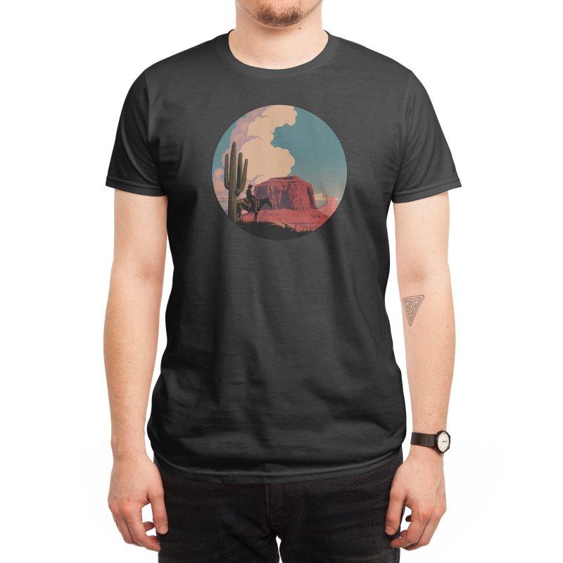 Desert Rider Men's T-Shirt by Threadless Artist Shop