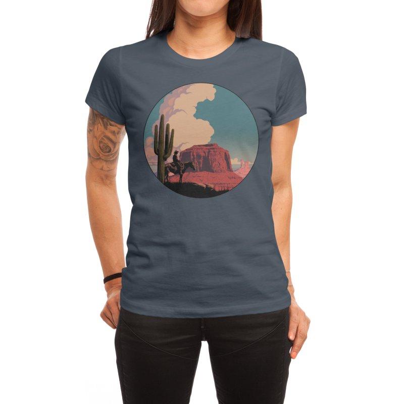 Desert Rider Women's T-Shirt by Threadless Artist Shop