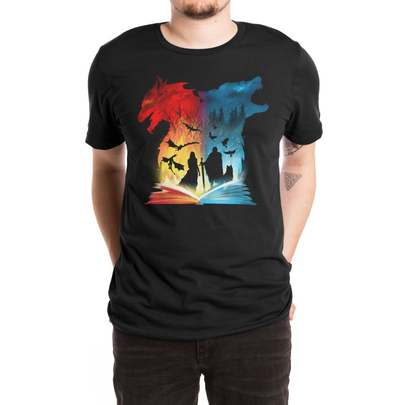 Book of Fire and Ice Men's T-Shirt by Threadless Artist Shop