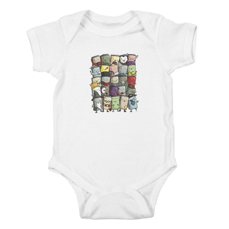Storytellers Kids Baby Bodysuit by Threadless Artist Shop