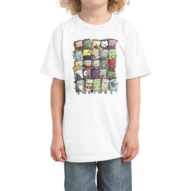 Storytellers Kids T-Shirt by Threadless Artist Shop