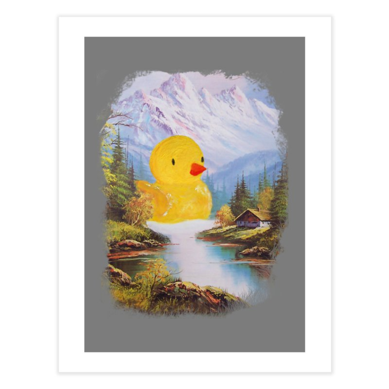 So Quack Home Fine Art Print by Threadless Artist Shop