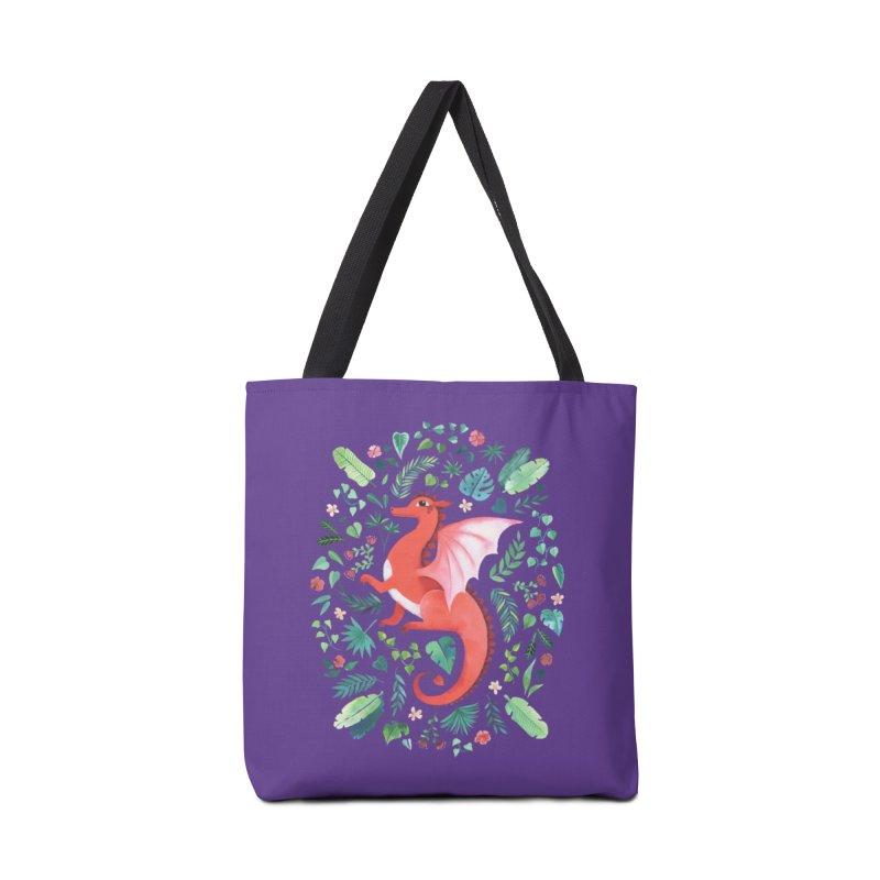 Tropical Dragon Accessories Bag by Threadless Artist Shop