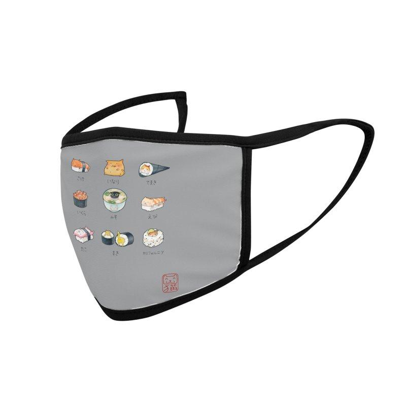 Nekozushi Accessories Face Mask by Threadless Artist Shop