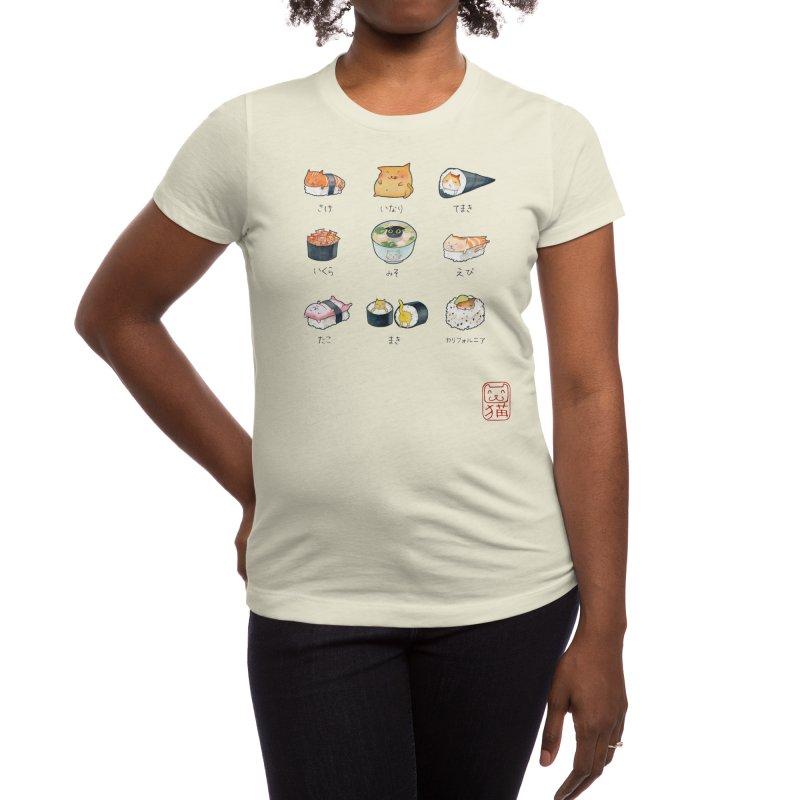 Nekozushi Women's T-Shirt by Threadless Artist Shop
