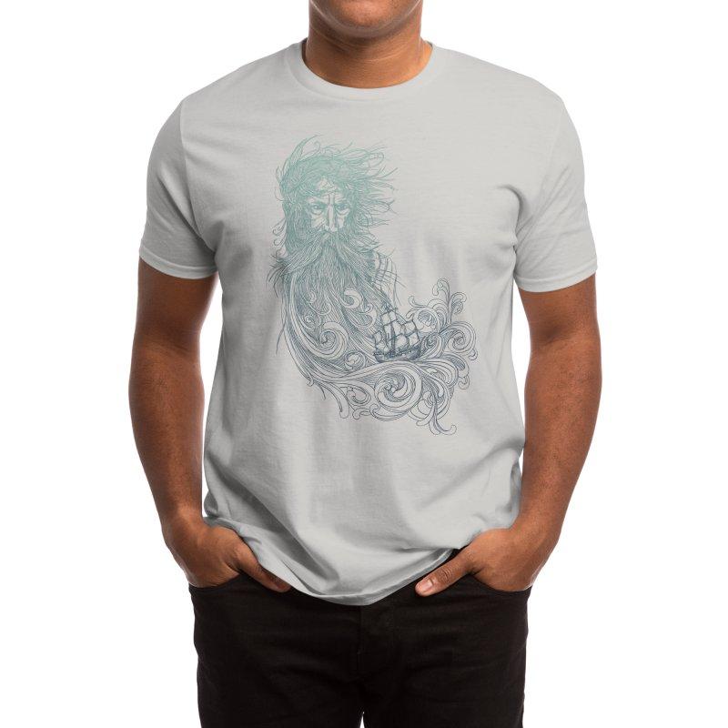 Sea Beard Men's T-Shirt by Threadless Artist Shop