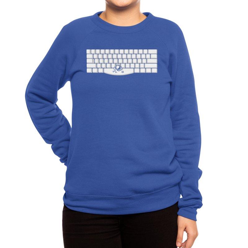 Spacebar Women's Sweatshirt by Threadless Artist Shop