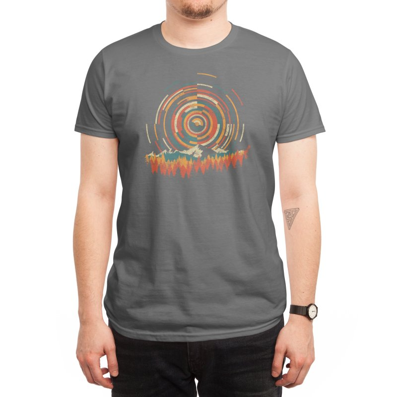The Geometry of Sunrise (Black Variant) Men's T-Shirt by Threadless Artist Shop