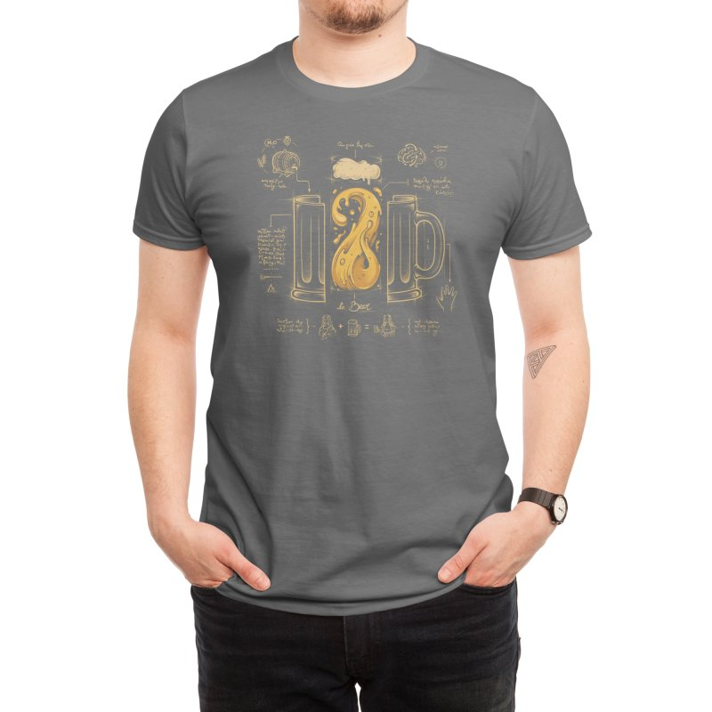 Le Beer (Elixir of Life) (Black Variant) Men's T-Shirt by Threadless Artist Shop