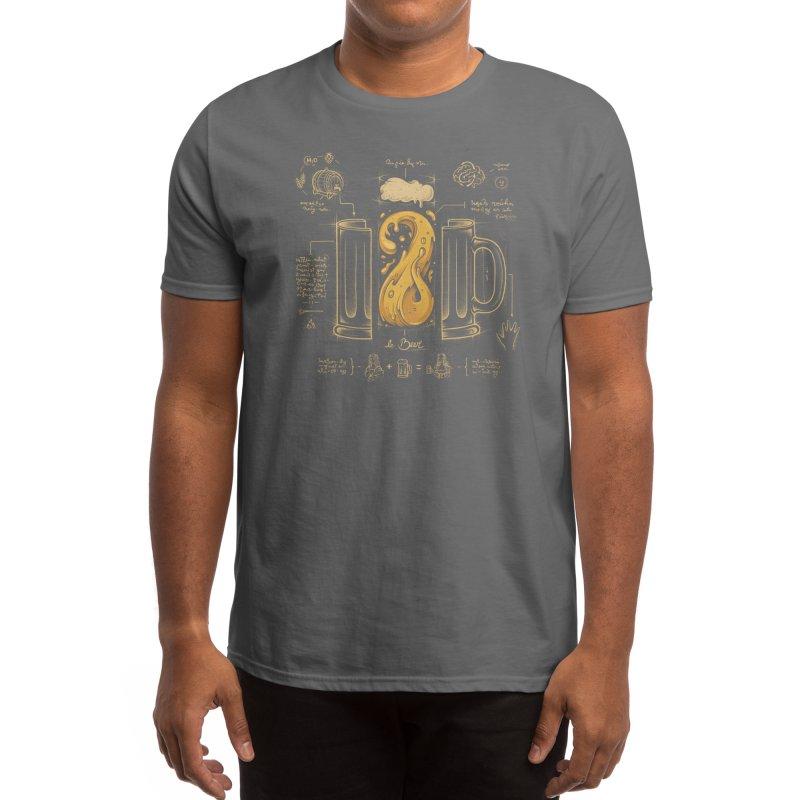 Le Beer (Elixir of Life) (Black Variant) Men's T-Shirt by Threadless Artist Shop